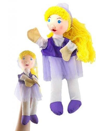 Becky Ballerina Hand Puppet 14 inches