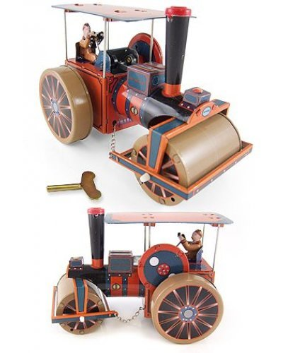 Steam Roller English Tin Toy 1898