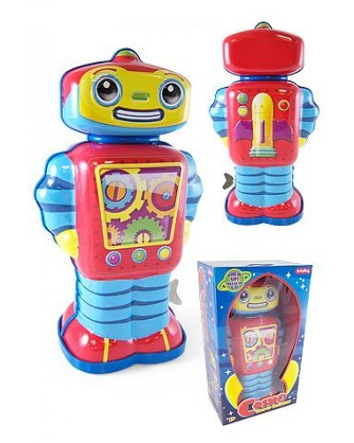 Cosmo Robot Large Kid Safe Tin Toy