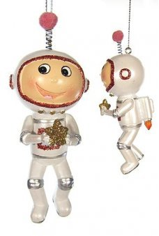 Rocket Boy Jet Pack Astro Ornament
