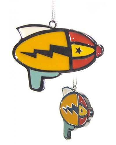 RayGun Ornament Metal Lightning