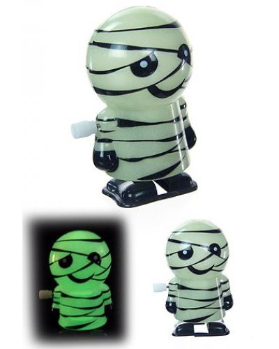 Mike the Mummy Wind Up Walks Glows