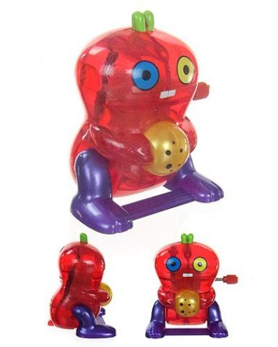 Babo Red Wind Up Flipper UglyDoll