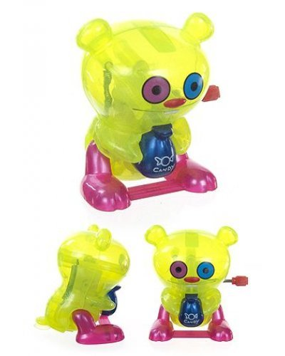 Trunko Yellow Clear Wind Up UglyDoll