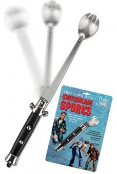 SwitchBlade Spork Spoon Fork 1950