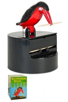 Toothpick Bird Deluxe Diner Dispenser