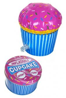 Inflatable Cup Cake Birthday in Tin