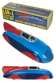 Streamline Race Car Tin Toy LSR1