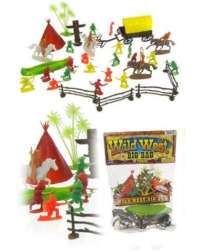 Wild West Playset Figures Big Bag Set