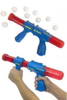 Pop Shot Ball Shooter Blue Red