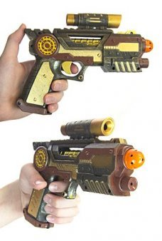 Steam Punk Ray Gun Future Victorian