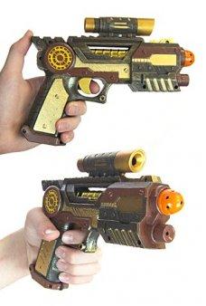 Steam Punk Ray Gun Future Victorian