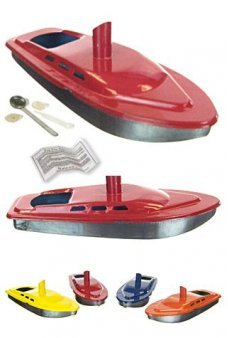 Steam Yacht POP POP Tin Boat Colors