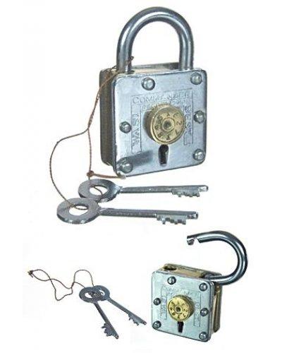 Houdini Magic Metal Lock Circle 8