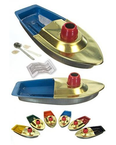 Red Chimney Gold Pop Pop Boat