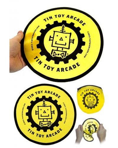 TinToyArcade Pocket Flyer Robot Disc