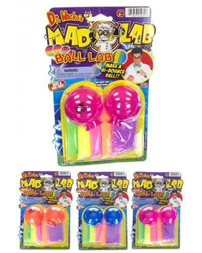Make Your Own Bouncing Ball Lab