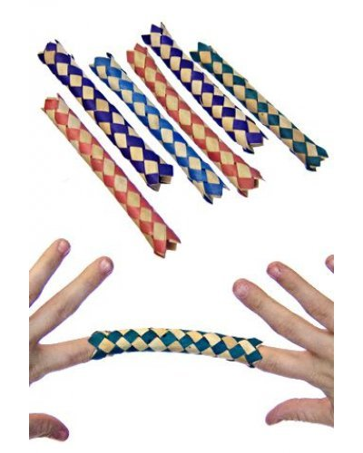 Chinese Finger Traps 6 Practical Jokes
