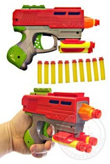 Ultra Shot Foam Dart Space Gun Nerf Style
