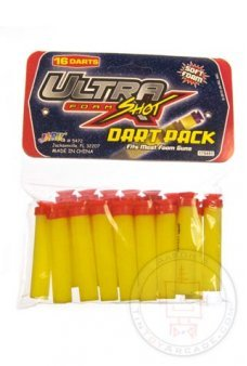Ultra Shot Foam Dart 16 Refill Pack