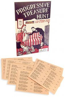 Treasure Hunt Party Game UK 1950