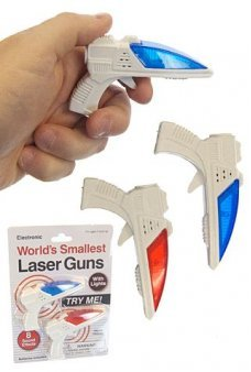 Worlds Smallest Laser Guns Set