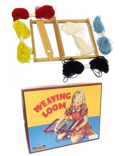 Weaving Loom Wooden Craft Kit 1950