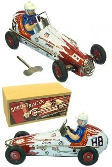 Sprint Racer Schylling Tin Toy Windup