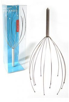 Kikkerland Head Massager