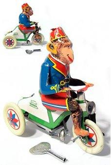 Monkey on Bike