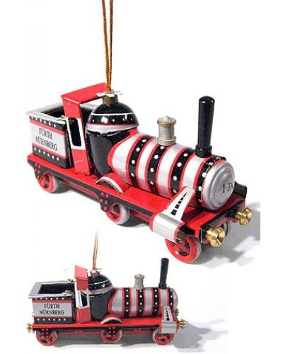 Christmas Steam Train Ornament