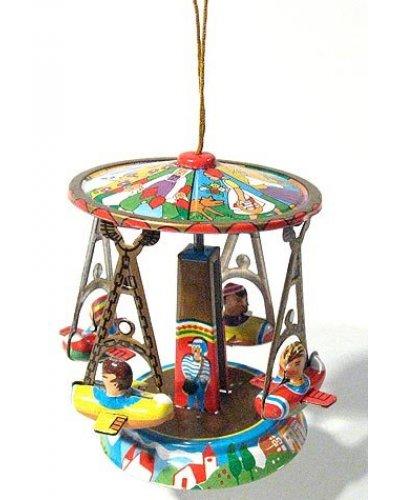 Plane Carousel Ornament