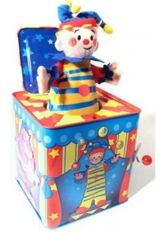 Silly Circus Jack in a Box