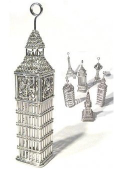 Big Ben Tower Ornament