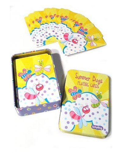 Summer Bugs Playing Cards