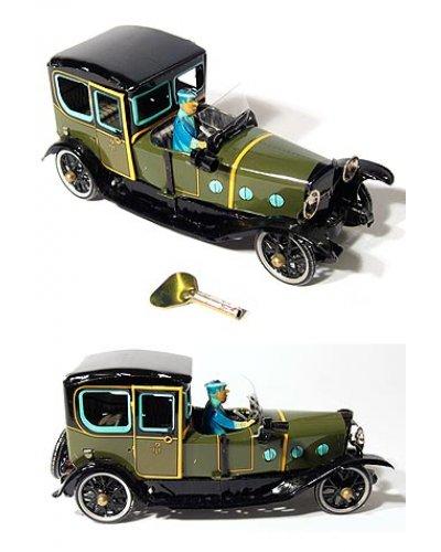 Green Saloon Touring Car