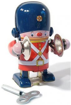 Little Soldier Cymbals Tin Toy