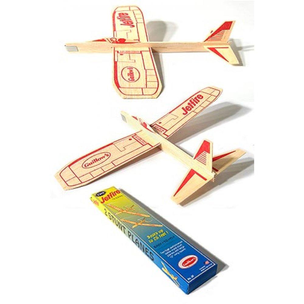 Jetfire Glider Balsa Wood Airplane Toy