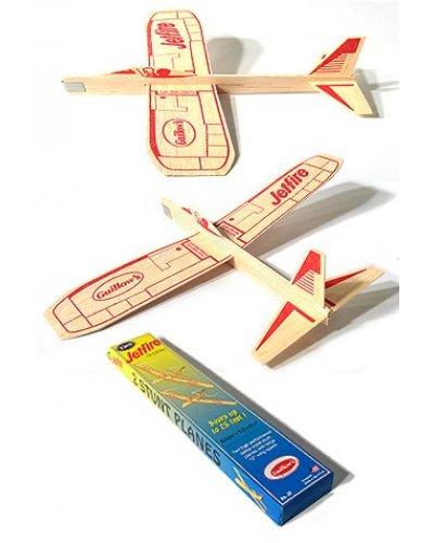 Jetfire Glider Classic Balsa Wood Plane