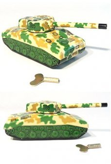 Sherman Tank Wind Up Toy