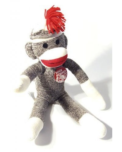 Sock Monkey Large