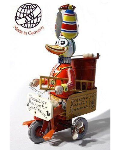 Fire Brigade Duck Made in Germany