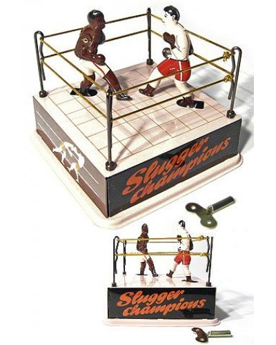 Boxing Ring Classic Tin Wind Up 1920