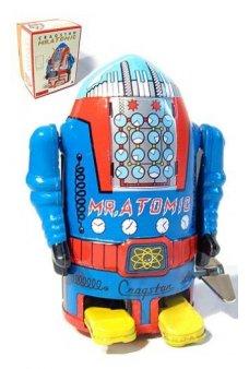 Mr Atomic Robot Blue Cragstan