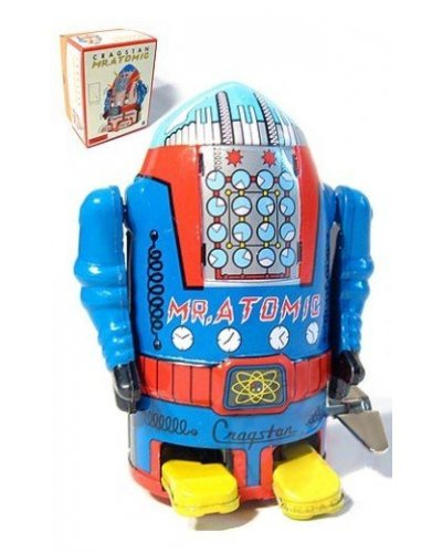 Mr Atomic Robot Blue Cragstan