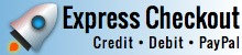 Express Checkout with Credit Cards or PayPal
