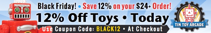 Today! 12% Off All Orders $24+  Use Coupon Code: BLACK12