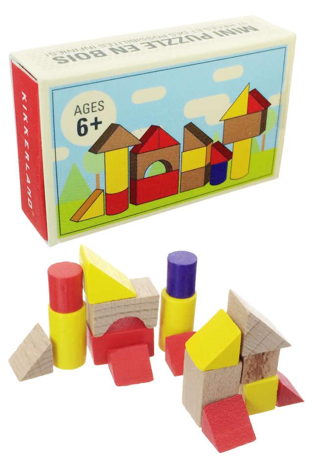 Matchbox Building Blocks Toys Wooden : Mini Architect Set